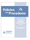 Policies Manual (cover)